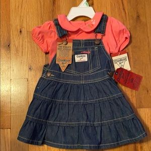 Toddler overall dress